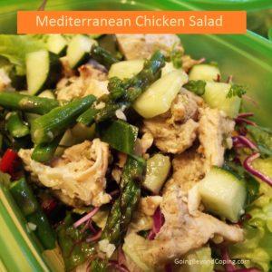 Meal prep chicken salad AIP diet
