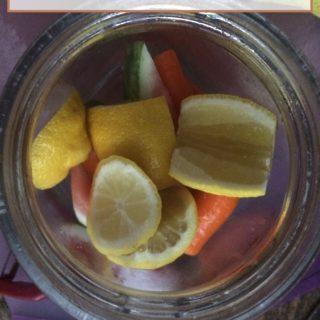 Making fruit kvass