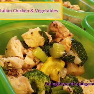 Chicken and veggies